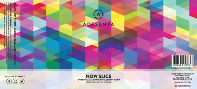 Now Slice Label at Adesanya Mead and Microbrewery