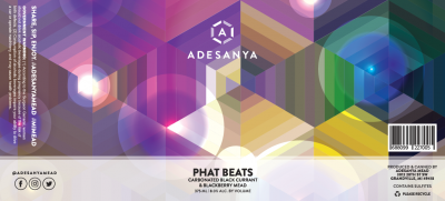 Phat Beats Label at Adesanya Mead and Microbrewery